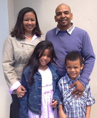 Eldrin Rojas and Family visits the Orlando Church