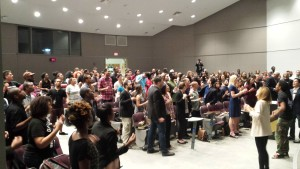 Friday night campus devotional was a packed house with 191 in attendance!