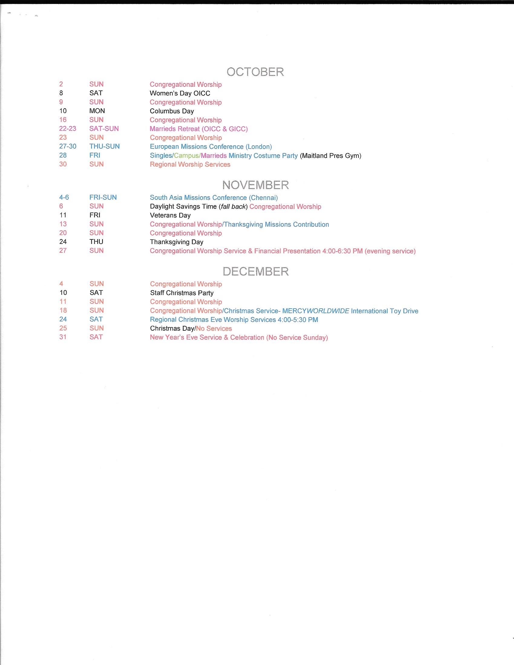 2016 Calendar 3