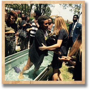 OUR NEWEST DEAR SISTER BRIANA IS BAPTIZED INTO CHRIST!