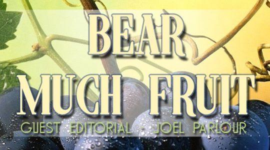 GUEST EDITORIAL: Joel Parlour